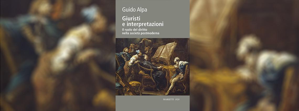 La filosofia del diritto di Guido Alpa