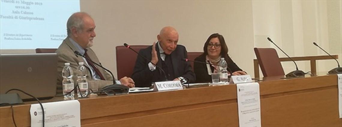 Presentazione del nuovo codice civile argentino con il Prof. Marco's Cordoba