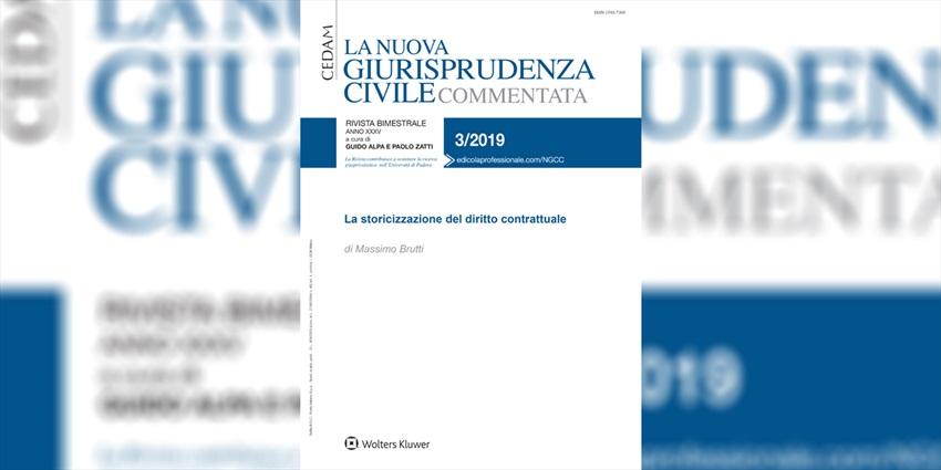 La storicizzazione del diritto contrattuale di Massimo Brutti