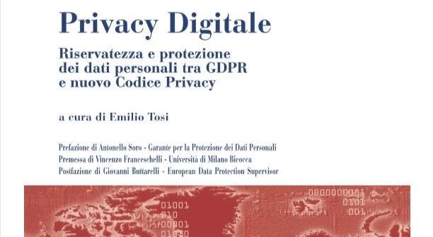 IX Convegno DNT - Persona, riservatezza, protezione dei dati personali e GDPR  nella società digitale